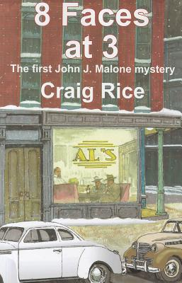 8 Faces at 3 (John J. Malone Mysteries) Cover Image