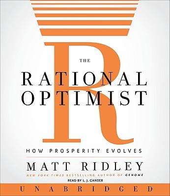 The Rational Optimist CD: How Prosperity Evolves Cover Image