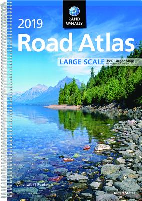 Rand McNally 2019 Large Scale Road Atlas Cover Image