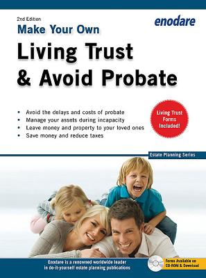 Make Your Own Living Trust & Avoid Probate [With CDROM] (Estate Planning) Cover Image