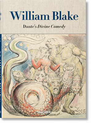 William Blake. Dante's 'divine Comedy'. the Complete Drawings Cover Image