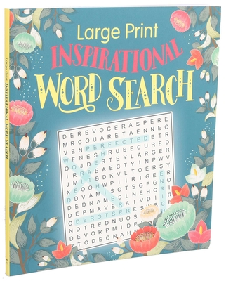 Large Print Inspirational Word Search (Large Print Puzzle Books) Cover Image