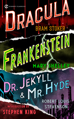 Frankenstein, Dracula, Dr. Jekyll and Mr. Hyde Cover Image