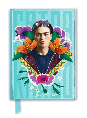 Frida Kahlo Blue (Foiled Journal) (Flame Tree Notebooks) Cover Image
