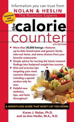 The Calorie Counter, 6th Edition Cover Image