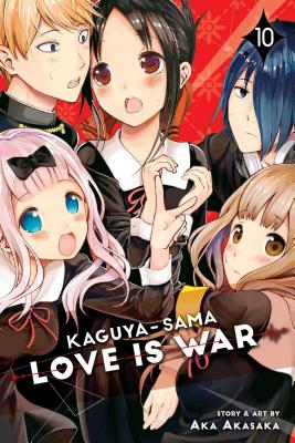 Kaguya-sama: Love Is War, Vol. 10 Cover Image