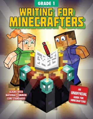 Writing for Minecrafters: Grade 1 Cover Image