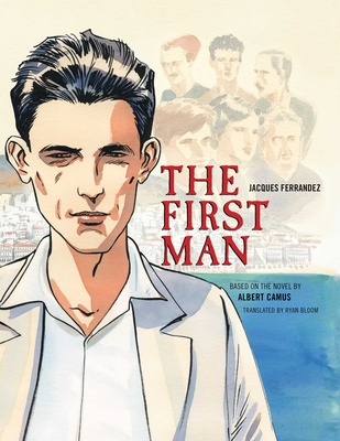 The First Man: The Graphic Novel Cover Image