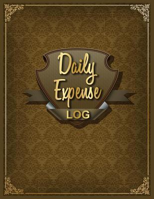 Daily Expense Log: Personal Budget Log Book Cover Image