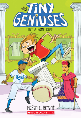 Hit a Home Run! (Tiny Geniuses #3) Cover Image