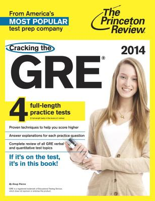 Cracking the GRE Cover