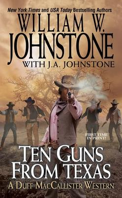 Ten Guns from Texas (A Duff MacCallister Western #6) Cover Image
