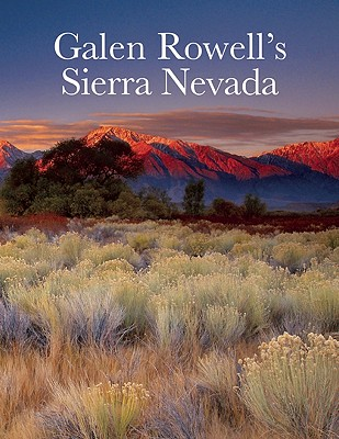Galen Rowell's Sierra Nevada Cover