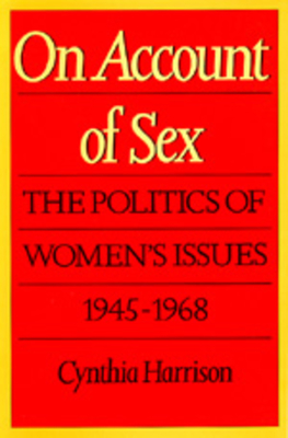 Cover for On Account of Sex