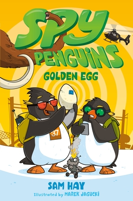 Spy Penguins: Golden Egg Cover Image