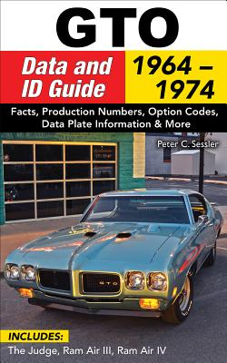 GTO Data & Id Guide: 1964-1972: Includes Judge, RAM Air II, III, and IV Cover Image