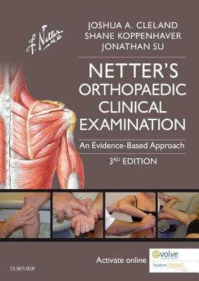 Netter's Orthopaedic Clinical Examination: An Evidence-Based Approach (Netter Clinical Science) Cover Image