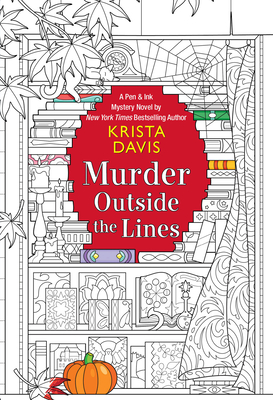 Murder Outside the Lines (Pen & Ink #3) Cover Image