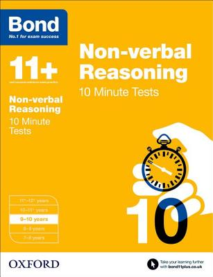 Bond 11+: Non Verbal Reasoning: 10 Minute Tests Cover Image