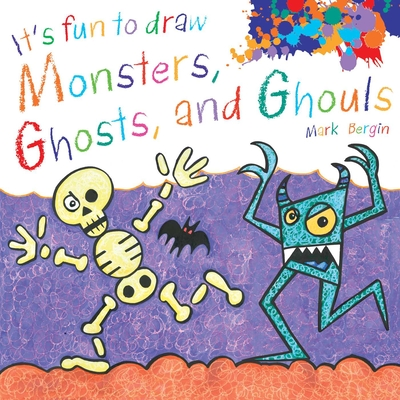 Cover for It's Fun to Draw Monsters, Ghosts, and Ghouls