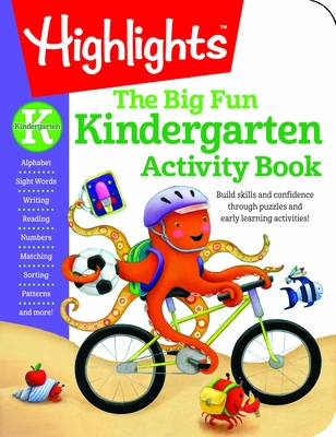Kindergarten Big Fun Workbook (Highlights Big Fun Activity Workbooks) Cover Image