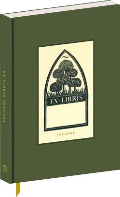 Ex Libris: A Journal (ruled notebook with cloth cover, 6-1/2 x 4-1/4
