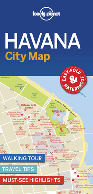 Lonely Planet Havana City Map Cover Image