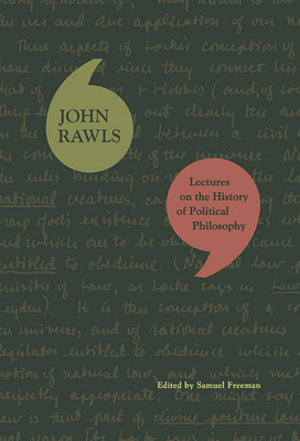 Lectures on the History of Political Philosophy Cover