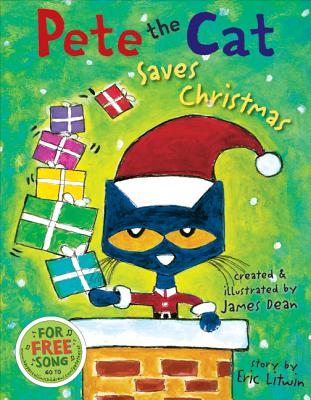 Pete the Cat Saves Christmas Cover Image