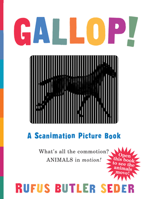 Gallop!: A Scanimation Picture Book Cover Image
