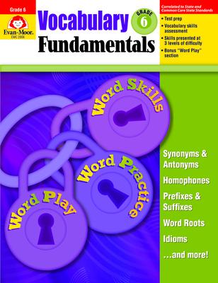 Vocabulary Fundamentals, Grade 6+ Cover Image