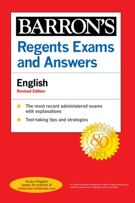 Regents Exams and Answers: English Revised Edition (Barron's Regents NY) Cover Image