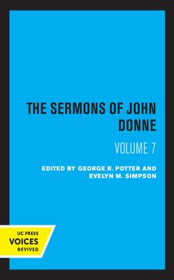 The Sermons of John Donne, Volume VII Cover Image
