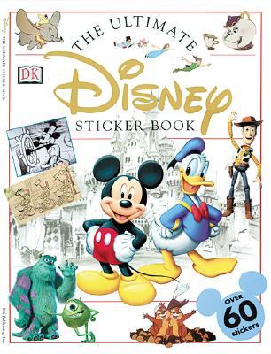 Ultimate Sticker Book: Disney Cover Image