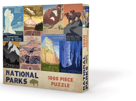 National Parks Puzzle Cover Image