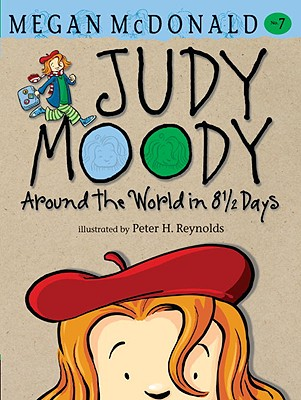 Judy Moody Around the World in 8 1/2 Days Cover Image
