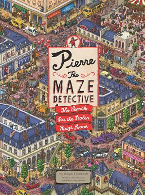Pierre the Maze Detective: The Search for the Stolen Maze Stone Cover Image