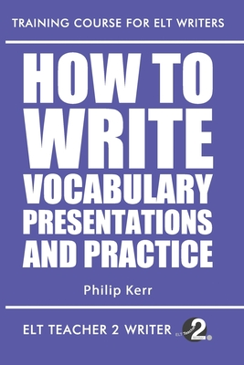 How To Write Vocabulary Presentations And Practice Cover Image