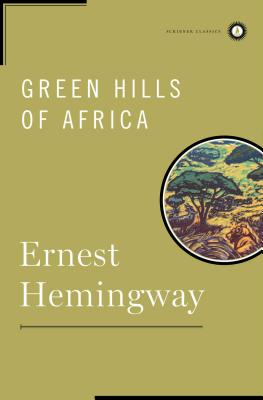 Green Hills of Africa Cover
