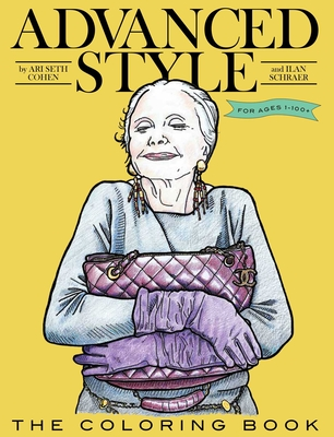 Advanced Style: The Coloring Book Cover Image
