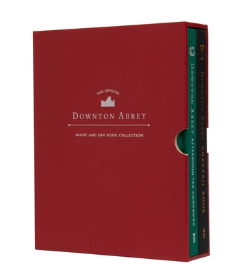 The Official Downton Abbey Night and Day Book Collection (Cocktails & Tea) (Downton Abbey Cookery) Cover Image