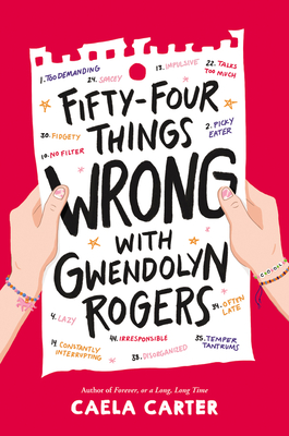 Fifty-Four Things Wrong with Gwendolyn Rogers Cover Image