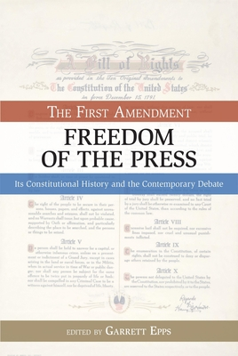 The First Amendment, Freedom of the Press Cover