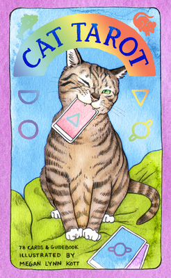 Cat Tarot: 78 Cards & Guidebook (Whimsical and Humorous Tarot Deck, Stocking Stuffer for Kitten Lovers) Cover Image