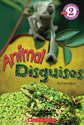 Scholastic Reader Level 2: Animal Disguises Cover Image