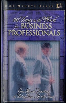 90 Days in the Word for Business Professionals Cover