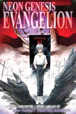 Neon Genesis Evangelion 3-in-1 Edition, Vol. 4: Includes vols. 10, 11 & 12 Cover Image