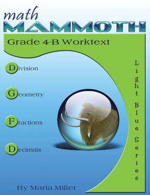 Math Mammoth Grade 4-B Worktext Cover Image