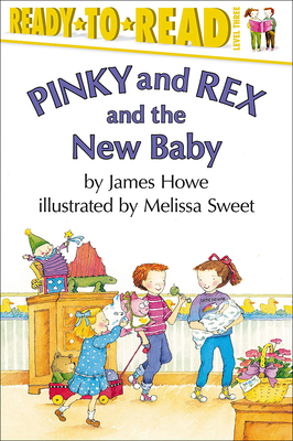 Cover for Pinky and Rex and the New Baby (Ready-To-Read