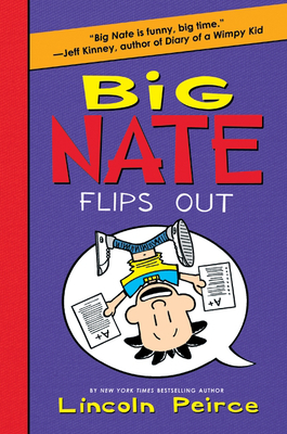 Big Nate Flips Out Cover